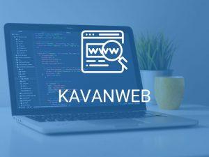 طراحی وب سایت خدماتی کاوان وب