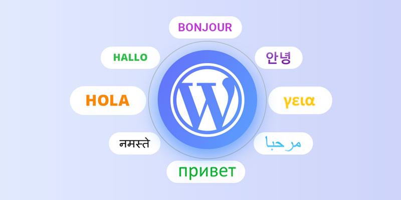 افزونه چند زبانه وردپرس رایگان